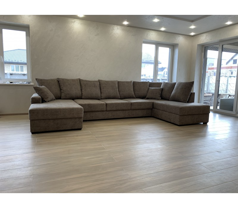 Большой п-образный диван Bristol Lux XXL