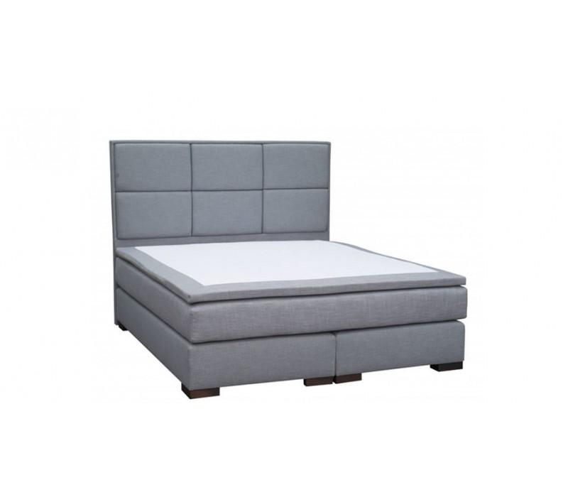 Мягкая  кровать с матрасом Royal